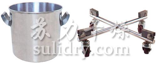 TJG固定提升加料机的料桶与料桶专用车